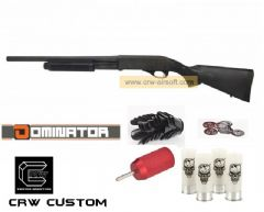 CRW custom DOMINATOR DM870  Steel Shotgun (with 4 APS SMART shell)